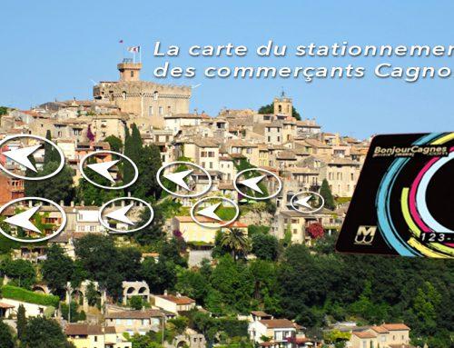 Le stationnement à Cagnes-sur-Mer avec Bonjour Card